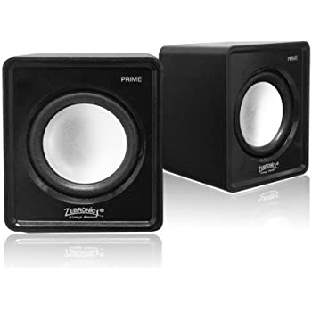 Zebronics Prime 2 2.0 Multimedia Speakers (Black)