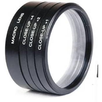 SPE 52 mm Close up Lens Filter Kit for Nikon 18-55 mm 55-100 mm 55-250 mm D3000, D3100, D3200