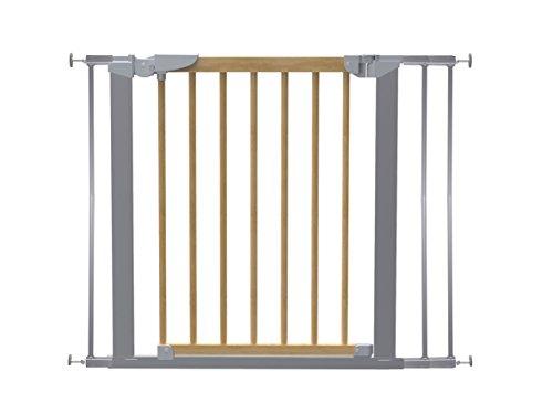 Türen Baby-gate Französisch (Baby Dan Avantgarde Schutzgitter Tür und Treppenschutz zum Klemmen, 71.3- 97.6 cm, buche / silber)