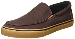 Vans Mens Bali SF (Heavy Canvas) Coffee Loafers - 10 UK/India (44.5 EU)