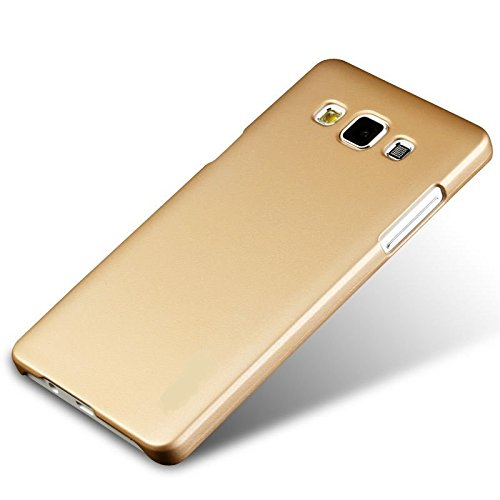 Samsung Galaxy J7 - 6 2016 Case, Original Ziaon(TM) Hard Rubber Back Cover Case For Samsung Galaxy J7 - 6 2016 Version - Gold