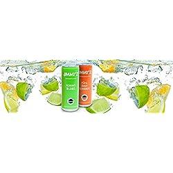 24 x J'Z koffeinhaltige Matcha-Erfrischung. Langer Effekt mit wenig Zucker und Kalorien. Energy Drink mit Lemongeschmack. Inkl. 6€ Pfand.