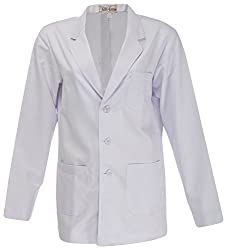 Panache Women's Long SLeeves Lab Coat (B002, White, 44)