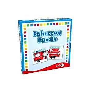 Noris Spiele 608985663 - Veicoli Puzzle, Viaggi e Mitbringspiel