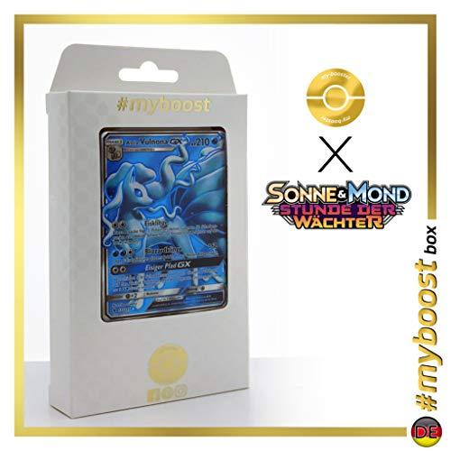 Alola-Vulnona-GX (Nietales de Alola-GX) 132/145 Full Art - #myboost X Sonne & Mond 2 Stunde Der Wachter - Box de 10 Cartas Pokémon Aleman