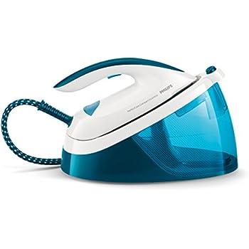 Philips GC6830/20 PerfectCare Compact Essential Ferro Generatore di Vapore, Tecnologia OptimalTEMP, fino a 5.5 bar di Pressione della Pompa, Colpo Vapore 270 g, Serbatoio 1.3 l