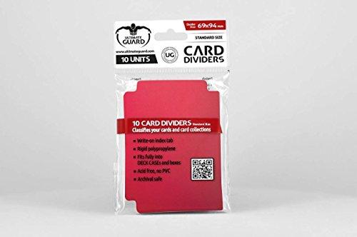 Última Guardia - 10 divisores para Las Tarjetas de la Tarjeta de divisores de tamaño estándar Red