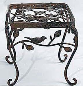 beistelltisch avis blumenst nder metall 20 cm x 20 cm. Black Bedroom Furniture Sets. Home Design Ideas
