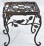 Beistelltisch Avis 23 cm x 23 cm Eisen rostoptik