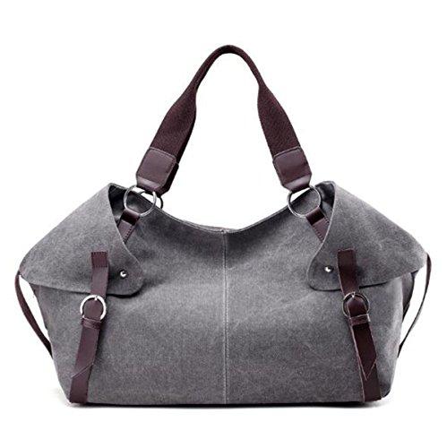 Damen-Reise-Handtasche Tasche Mode Schulter Messenger Bag Grey