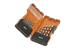 AEG 4932352243 Powerset Lot de 19 forets à métaux HSS-G