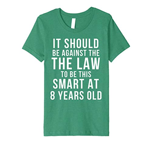 Kinder 8th Birthday T Shirt For 8 Year Old