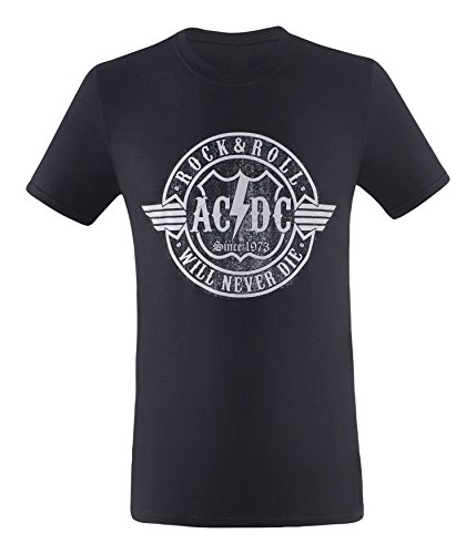 AC/DC Herren Highway T-Shirt Never (07)