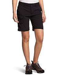 Columbia Silver Ridge, Pantalones cortos Mujer, Negro (Black), 38 EU