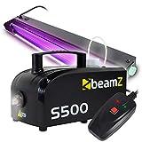 beamz Smoke Machine Fog Effect, Ultraviolet UV Tube Light|Halloween House Party HPK62