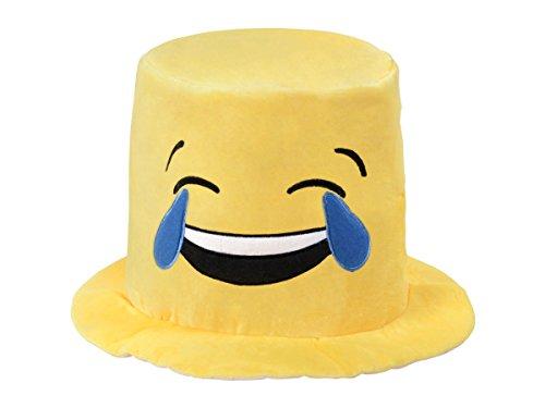 Unbekannt Tränen lachender Emotjicon Hut Emoticon Partyhut - Farbe: gelb - (Kh-217) von Alsino
