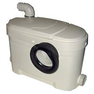Setma Hebeanlage Aquasan für WC & 2 weitere Einläufe