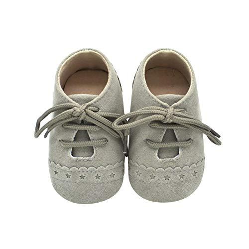 DEBAIJIA Zapatos de Bebé para 6-18 Meses Unisex Niños Niñas Primeros Pasos Pantuflas Infantiles Moda...