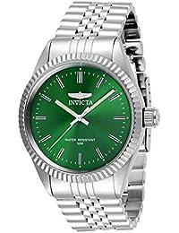 Invicta 29374 Specialty Reloj para Hombre acero inoxidable Cuarzo Esfera  verde 777137ddd20f