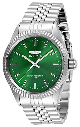 Invicta 29374 Specialty  Reloj para Hombre acero inoxidable Cuarzo Esfera verde