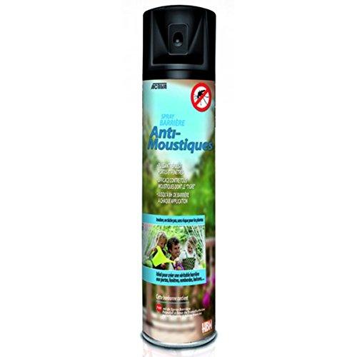 HBM Anti-Moustiques 001-RE-BMB001 Spray Mousse Barrière Anti-Moustique 8 H 750 ml