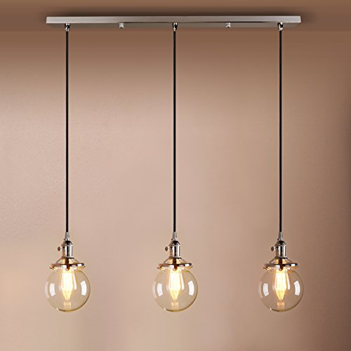 3 pendant ceiling light amazon mozeypictures Image collections
