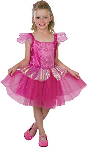 Kostüm Rosa Prinzessin Fee - Forever Young UK Mädchen Prinzessin Kostüm Kinder Kostüm Rosa Prinzessin Tutu Kleid Fee (8-10 Jahre alt)