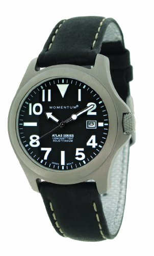 Momentum Damen-Armbanduhr XS ATLAS Analog Quarz Leder 1M-SP01B2B