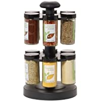 Kamenstein 12-Jar Spice Up Your Health Revolving Spice Rack by