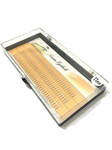 Gruppi professionali ciglia extension ciglie 90pcs lunghezza 8,10,11,12mm (11mm)
