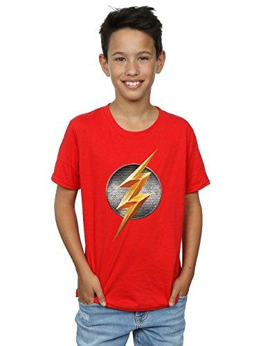 DC Comics Boys Justice League Movie Flash Emblem T-Shirt