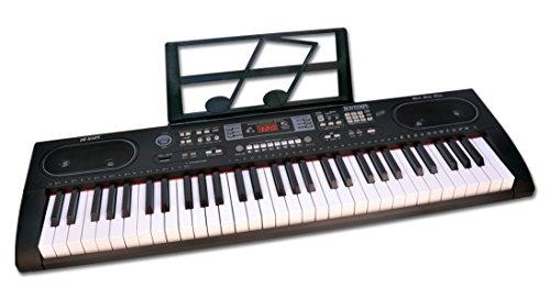 Bontempi 16 6125 -  tastiera 61 tasti corredata di gambe in metallo