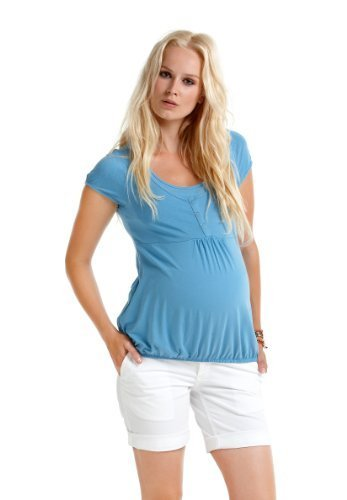 Christoff Shorts BINZ- pantacourt Femmes vêtements de maternité Maternité Shorts 188/53 - Blanc