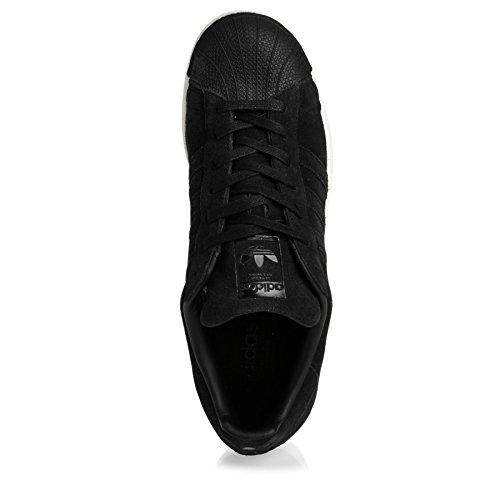 adidas Superstar, Chaussures de Course Homme Noir (Negbas / Negbas / Negbas)
