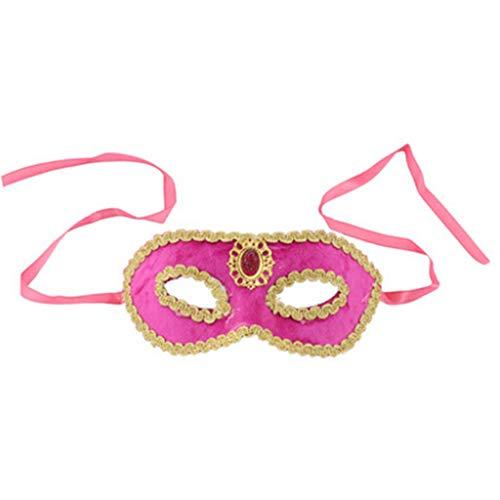 e Venezianisches Gothic Maskerade Geeignet Halloween Party Home Dekoration ()