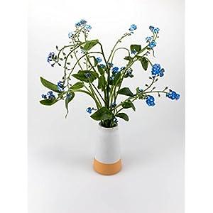 Beton Vase Safrangelb