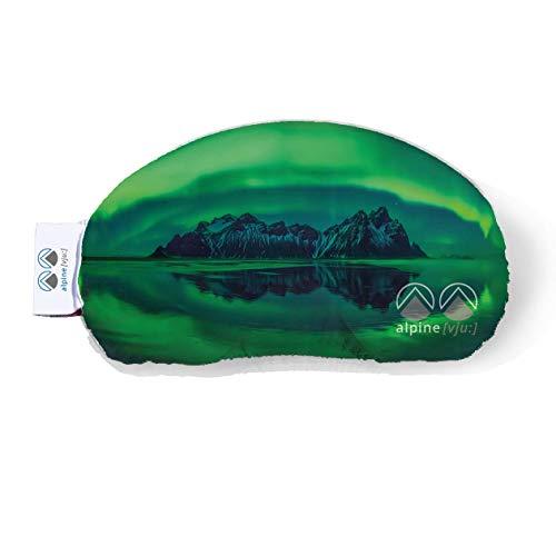 Alpine [vju:] - Skibrillenschutz | Goggle Schutz Cover | elastisch aus Mikrofaser | Unisex (Foto Nordlichter)