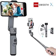 Zhiyun Smooth X 2-Axis Gimbal Stabilizer for iPhone 11 Pro Xs Max Xr X 8 Plus 7 6 SE Android Smartphone Samsun