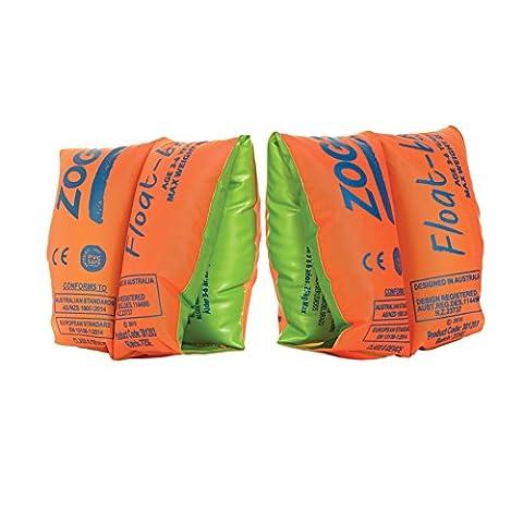 Zoggs Kids Swim Inflatable Floatation Ring - Orange, 3-6 Years