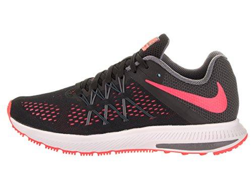 Nike Wmns Zoom Winflo 3, Scarpe da Corsa Donna Black
