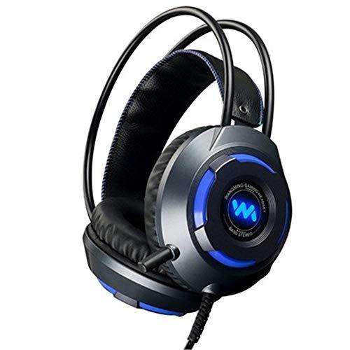 K1Pro Stereo Gaming Headset für PS4, PC, Xbox One, Mac, Nintendo Switch 【50 mm Treiber】【3D Surround Sound】 Over-Ear Kopfhörer mit Rauschunterdrückung Mikrofon Schwarz schwarz (Xbox 360-controller 10 Dollar)