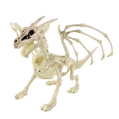 (Skeleton Dragon Halloween Dekorationen Simulation Tier Skelettknochen Drachen)