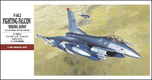 Imagen principal de Hasegawa F16CJ Fighting Falcon Misawa Japan - Juguete de aeromodelismo, escala 1:48 [Importado de Alemania]