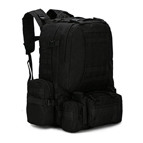 BULAGE Paket Multifunktional Rucksäcke Militärische Fans Taktik Schultern Taille Im Freien Mit Hohen Kapazität Tarnung Wandern Reisen Wandern Cb