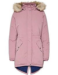 Jacqueline de Yong Parka Femme Longue Veste d hiver Manteau Uniquement D2494 f28a00430fa