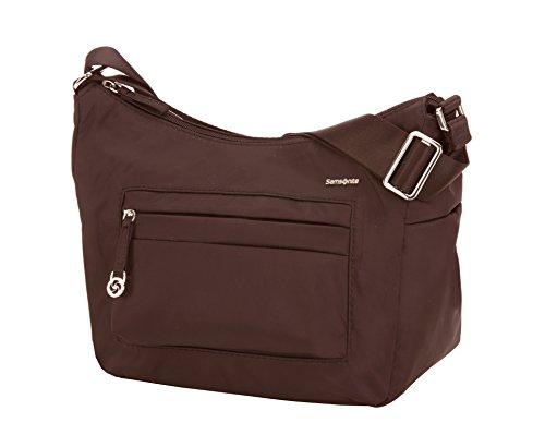 Samsonite Move 2 Shoulder Bag S + 1 Pock Borsa Messenger, 27 cm, Dark Brown