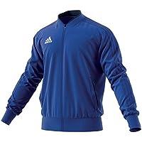 adidas Condivo18 Polyester, Maglia A Zip Unisex-Bambino, Blu/Blu Scurobianco, 910A