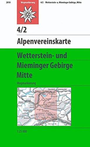 Wetterstein Und Mieminger Gebirge Mitte