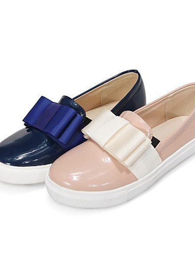 ZQ Scarpe Donna - Mocassini - Tempo libero / Casual - Comoda - Piatto - Vernice - Blu / Rosa , pink-us10.5 / eu42 / uk8.5 / cn43 , pink-us10.5 / eu42 / uk8.5 / cn43 blue-us5 / eu35 / uk3 / cn34