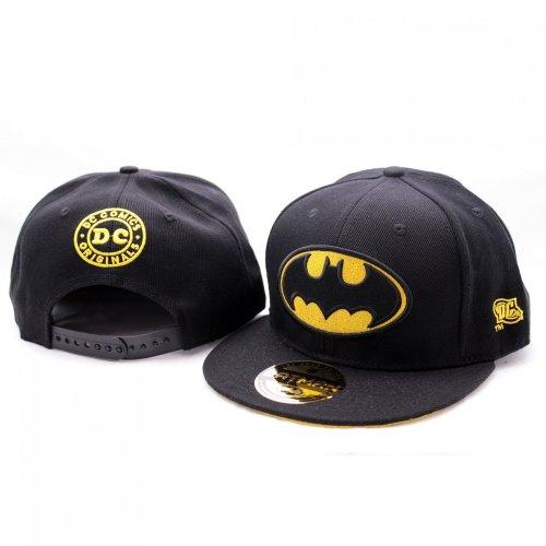 DC Comics Batman Gorra de béisbol, diseño de logotipo clásico